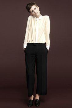 Pantalon amplio recto al tobillo o al suelo y con bajo acampanado zara 2012-5