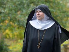 Äbtissin Benedikta aus der Abtei St. Maria in Fulda