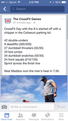 Crossfit day with the A's #wod