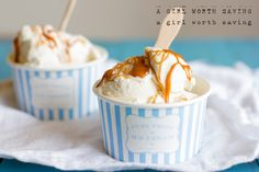 Primal Salted Caramel Ice Cream