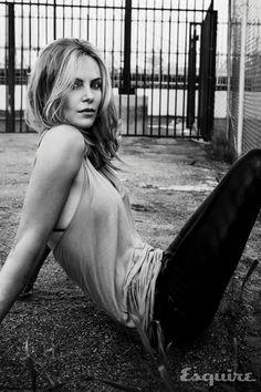 Charlize Theron by James White - Esquire May 2015