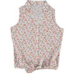 Camicia smanicata con nodo in vita per il tuo look country di tutti i giorni! - € 27,90 | Nico.it