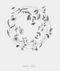 Circle of growth tattoo idea