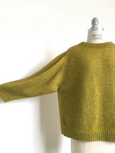 Пуловер оверсайз спицами описание и выкройка