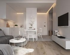Квартира Пражская Парк - Гостиная, скандинавский стиль - фото, ЭЛЕМЕНТЫ