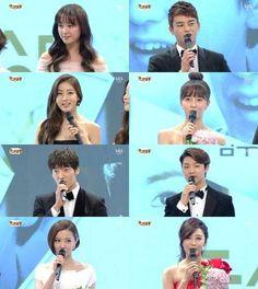Seo In Guk, A Pink's Eunji, CNBLUE's Minhyuk & more win 'New Star Award' (2013 SBS Drama Awards) | allkpop