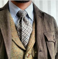 There's nothing quite like the appeal of tweeds and wool...