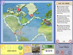 A passion for games and travel led retired principal Michael Gifford to design and create an educational computer game for learning about the 'New 7 Wonders of the World'.