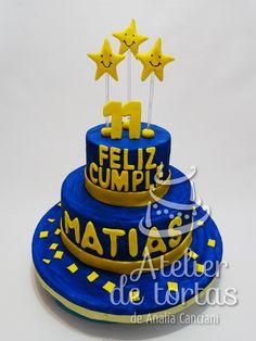 TORTA BOCA Boca Jr, Nachos, Birthdays, Candy, Paris, Desserts, Food, Birthday Table, Anniversaries
