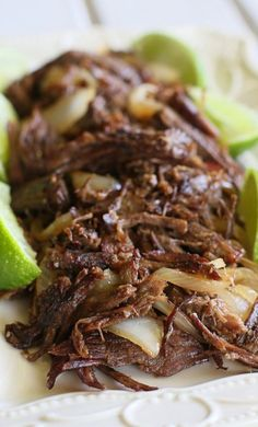 VACA FRITA (shredded fried beef) ~~~ this dish is made of twice-cooked skirt or flank steak (braised/simmered then pan-fried until crisp). gateway: this post's link is shared from cook's illustrated + http://icuban.com/food/vaca_frita.html + a slow cooker twist with slight ingredient variance at http://thecuriouscoconut.com/blog/slow-cooker-cuban-vaca-frita [Cuba] [the-girl-who-ate-everything] [icuban] [thecuriouscoconut] [america's test kitchen, cook's illustrated] [slow cooker, crock-pot]