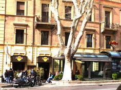 Outside view of our first #hardrockcafe in #Italy: @Carlye Hardman Rock Cafe Rome!