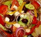 Pappadeaux's Greek Salad....I crave this like no other!