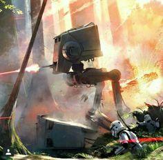 Battlefront Concept Art
