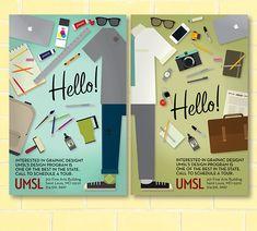 Poster Series: UMSL Design Program on Behance