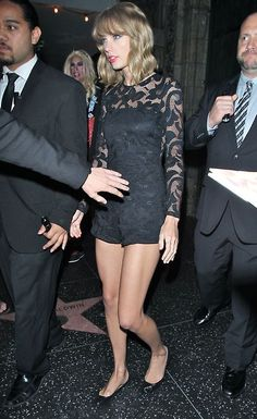 Taylor leaving the VMA after-party August 24, 2014