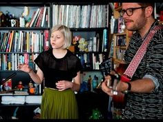 "AURORA doing an acoustic version of her latest single Conqueror for the Channel 4 programme ""Future Sounds""."