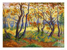 Edge of the Forest Giclee Print by Paul Ranson at Art.com
