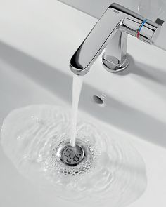 intelligent drain shows your water consumption
