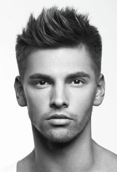 2015+Men's+Hairstyle+Trends+-+The+Peaked+Clean-Cut+haircuts+fashion+trends+guy+.jpg 444×650 pixels