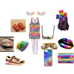 Designer Clothes, Shoes & Bags for Women Rainbow, Shoe Bag, Polyvore, Stuff To Buy, Color, Accessories, Collection, Design, Women