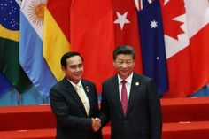 As Thailand won the 2016 chairmanship of G77, an organization which expanded from 77 to 134 member countries, Prime Minister Prayut Chan-o-cha, attended the two-day G20 summit in Hangzhou, China .  Gen Prayut said the summit's agenda attached the importance of development, building a new kind of cooperation and becoming the vehicle of the 21st century that drives the global economy to a new path of development and creating a global partnership with no limits on cooperation . #G77
