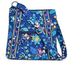 Disney Parks Vera Bradley Mickey and Minnie Mouse Disney Dreaming Hipster Bag >>> Read more reviews of the product by visiting the link on the image.