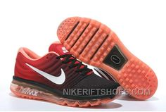 premium selection ccae8 74024 Authentic Nike Air Max 2017 Black Red White New Style Wb7MyG3, Price  69.52 - Nike Rift Shoes