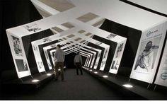 Ideas For Wall Display Exhibition Design Exhibition Stand Design, Exhibition Display, Exhibition Space, Exhibition Ideas, Environmental Graphics, Environmental Design, Display Design, Booth Design, Banner Design