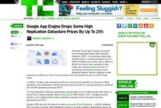 http://techcrunch.com/2013/05/23/google-app-engine-drops-some-high-replication-datastore-prices-by-up-to-25/ ... | #Indiegogo #fundraising http://igg.me/at/tn5/