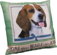 Beagle Pillow 16x16 Polyester 1