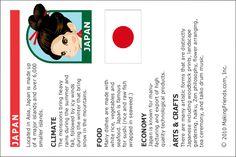 Japan Fact Sheet for kids