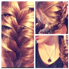 Fishtail frenchbraid<3