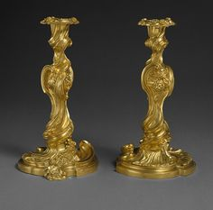 Candlesticks [French] (1999.370.1a,b,.2a,b) | Heilbrunn Timeline of Art History | The Metropolitan Museum of Art