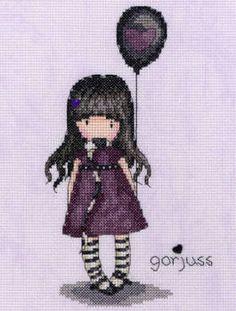 The Balloon - Gorjuss Cross Stitch