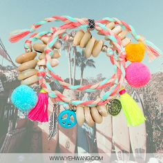 How about this Lovely braided multi color bracelet. www.yehwang.com