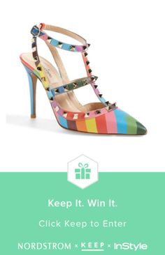 8e74b4da72b6 Enter to win the perfect pair of Valentino Rockstud heels from  Keep