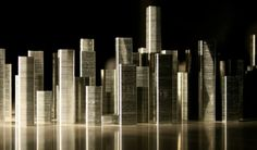 A city made of staples