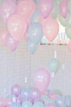 pastel balloons #lifeoftheparty
