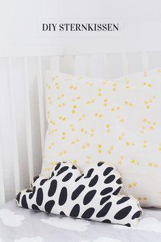 Inspiration fürs Kinderzimmer: DIY-Sternkissen.