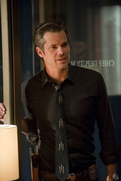 TIMOTHY OLYPHANT: I went MILD instead of wild. I don't want to chase anyone away. I'm really just a nice girl who occasionally likes to play. Naughty or nice, I can always throw down a rhyme, but Tim is welcomed to handcuff me for obscenity anytime! #TimothyOlyphant #Justified #RaylanGivens
