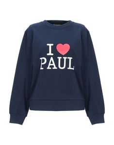 Print Logo Solid color Round collar Long sleeves No pockets Fleece lining Paul And Joe, Print Logo, Printed Sweatshirts, Round Collar, World Of Fashion, Dark Blue, Your Style, Graphic Sweatshirt, Long Sleeve