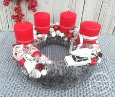 Advent, Centerpieces, Wreaths, Christmas Ornaments, Holiday Decor, Home Decor, Xmas, Decoration Home, Door Wreaths