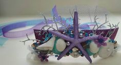 Beautiful Handmade in Hawaii with local Oahu sea shells Mermaid Sea Princess Crown - Kids size Shown - Purple & Turquoise colors. Available in Adult, Kids and Baby Sizes.  Custom One of a kind Handmade Mermaid Crowns - No two Mermaid Crowns will be exactly alike. Mermaid Sea Crowns will be similar to the Mermaid Sea Crown shown in the pictures.