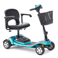 The Li-Tech Air light travel scooter is just and comes with a powerful Lithium-ion battery. Dismantles for easy transport in car boot. Available in teal blue. Air Travel, Travel Light, Train Vacations, Mobility Scooters, Car Boot, Wheelchairs, Electric Bicycle, Teal Blue, Tech