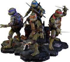 Teenage Mutant Ninja Turtles Polystone Statue Set