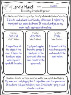Graphic Organizers for Personal Narratives   Scholastic com     Pinterest