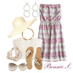 shopping on vacation, created by bonnaroosky on Polyvore