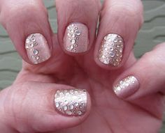 Cha Cha Cakes Nails: Kiss Nail Dress- My Nail Looks