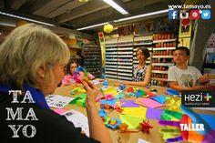 Este fín de semana vuelven los cursos de #origami a #Tamayopapeleria #Donostia #SanSebastian. Para adultos por la mañana y niños por la tarde. Más info en la web en el tel. 943 44 12 91 y en la planta baja de nuestra tienda en c/Legazpi 4. Plazas limitadas.