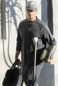 Josh Duhamel in LA wearing the 'Green Forest' cap